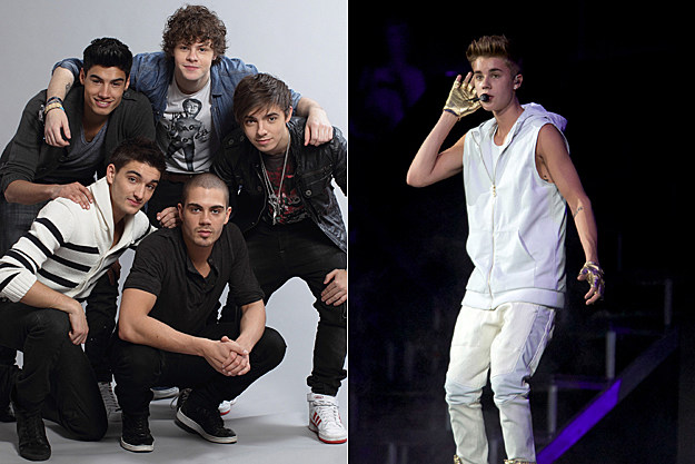 The Wanted Justin Bieber