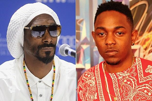 Snoop Dogg Kendrick Lamar