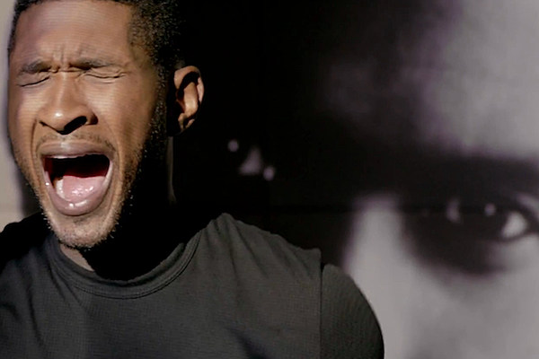 Usher Breaks Through The Walls Of Pain In Numb Video