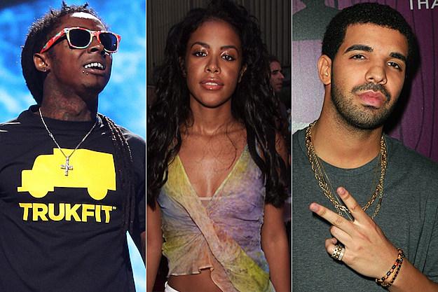 Lil Wayne Aaliyah Drake