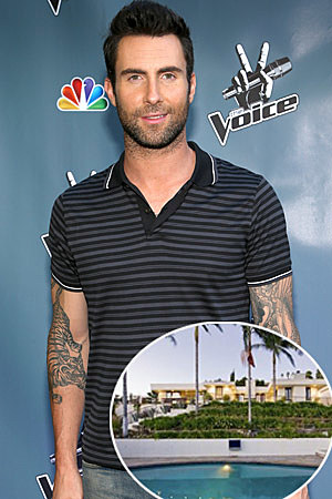 Adam Levine Mansion