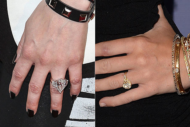 Avril Lavigne Engagement Ring Miley Cyrus Engagement Ring