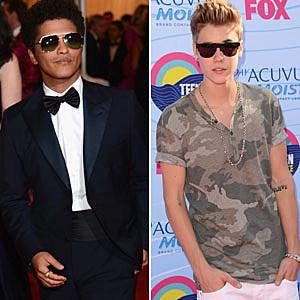 Bruno Mars And Justin Bieber Pop Bytes: Just...