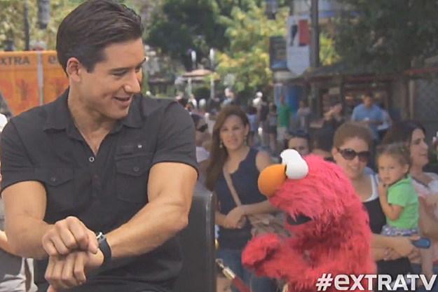 Mario Lopez Elmo Gangnam Style