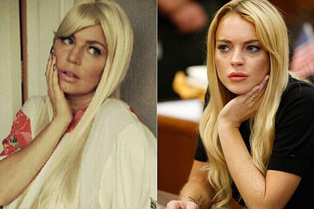 Fergie Lindsay Lohan