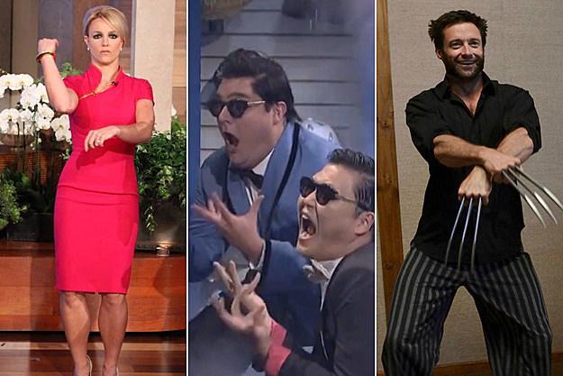 Britney Spears Psy Bobby Moynihan Hugh Jackman