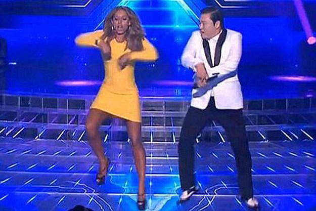 Mel B Psy Gangnam Style