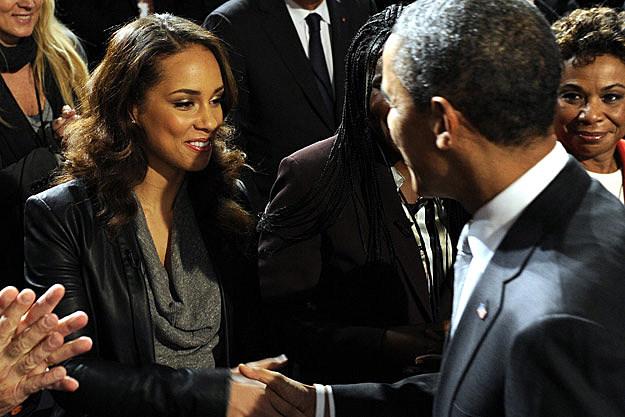 Alicia Keys President Barack Obama