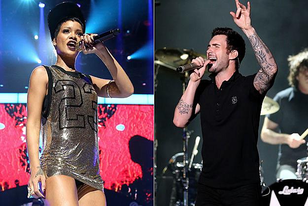 Rihanna Adam Levine