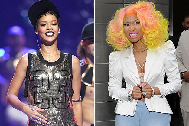 Rihanna Nicki Minaj