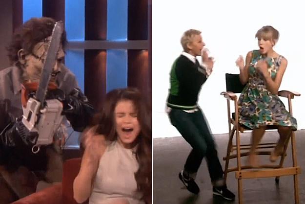 Selena Gomez Ellen Degeneres Taylor Swift