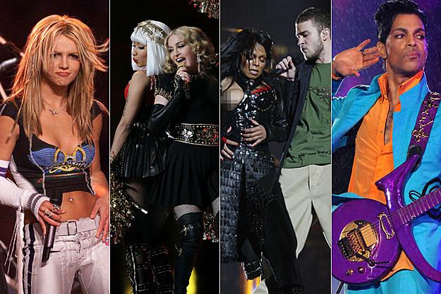 Britney Spears Nicki Minaj Madonna Janet Jackson Justin Timberlake Prince