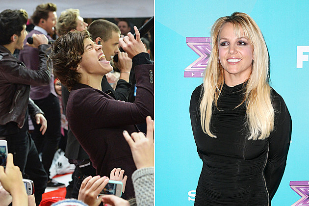 One Direction Britney Spears