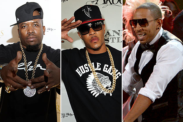 Big Boi, T.I., and Ludacris