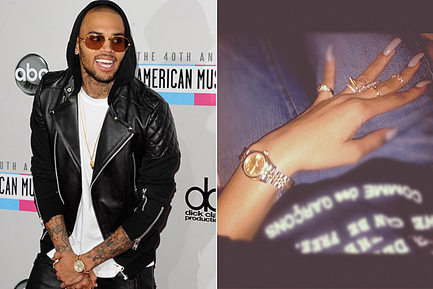 Chris Brown Rihanna Rolex Watch