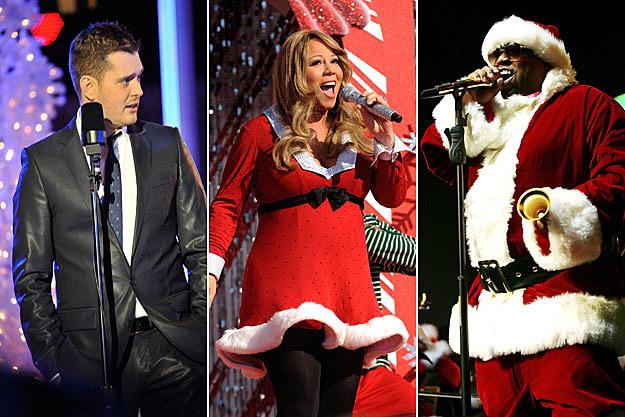 Michael Buble, Mariah Carey, Cee Lo Green