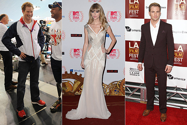 Prince Harry Taylor Swift Chris Pine