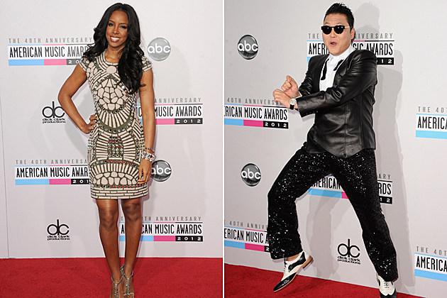 Kelly Rowland Psy AMAs