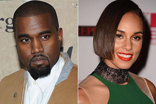 Kanye West Alicia Keys