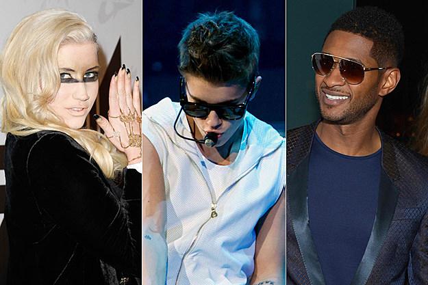 Kesha Justin Bieber Usher