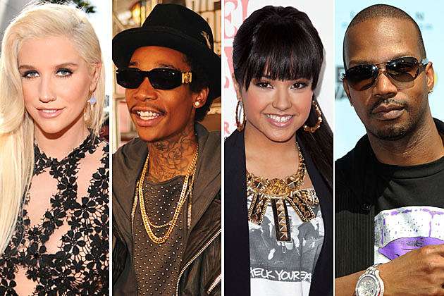 Kesha Wiz Khalifa Becky G Juicy J