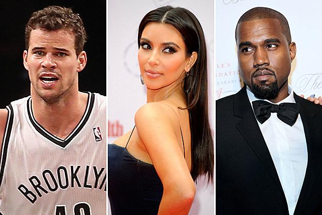 Kris Humphries Kim Kardashian Kanye West