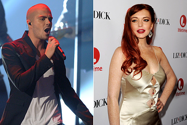Max George the Wanted Lindsay Lohan