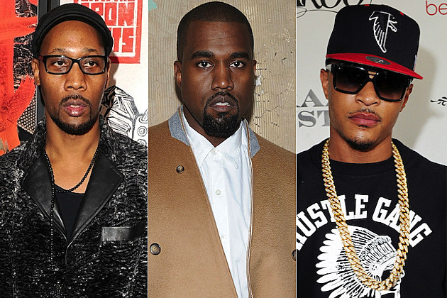 RZA + T.I. Rework Kanye West's 'White Dress' and 'Clique' Tracks