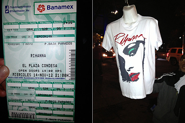 Rihanna 777 Tour Mexico City