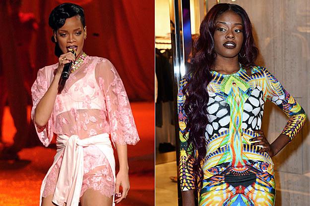 Rihanna Azealia Banks