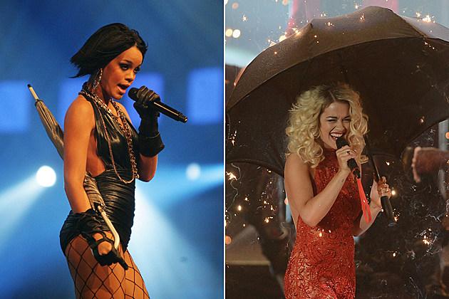 Rihanna Rita Ora