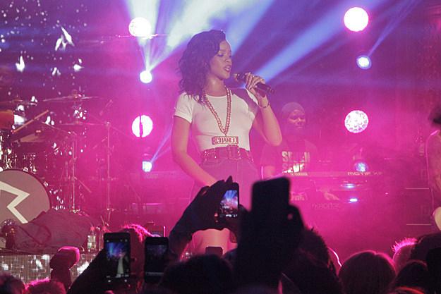 Rihanna Stockholm