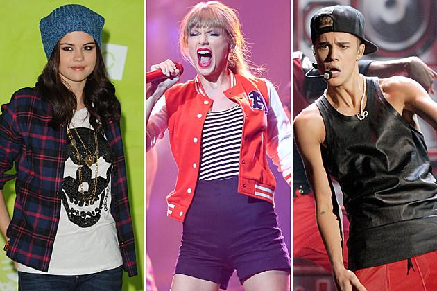 Selena Gomez Taylor Swift Justin Bieber