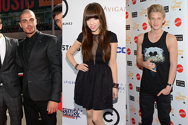 The Wanted Carly Rae Jepsen Cody Simpson