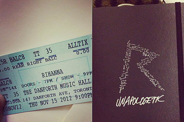 777 Toronto Tickets Unapologetic Notebook