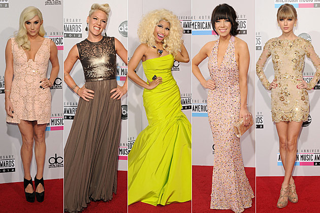 Kesha Pink Nicki Minaj Carly Rae Jepsen Taylor Swift