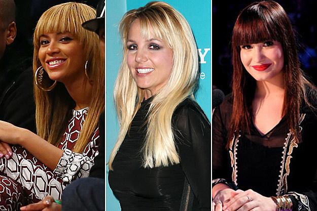 Beyonce Britney Spears Demi Lovato