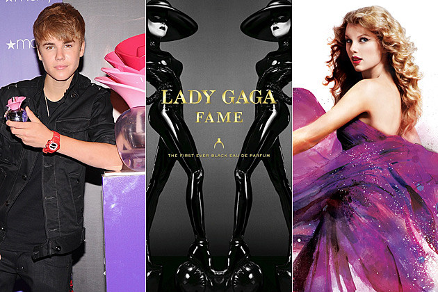 Justin Bieber Lady Gaga Taylor Swift