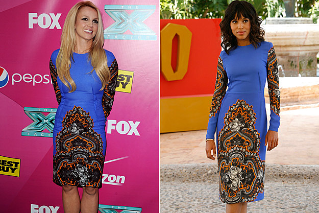 Britney Spears Kerry Washington