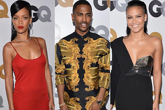 Rihanna Big Sean Cassie