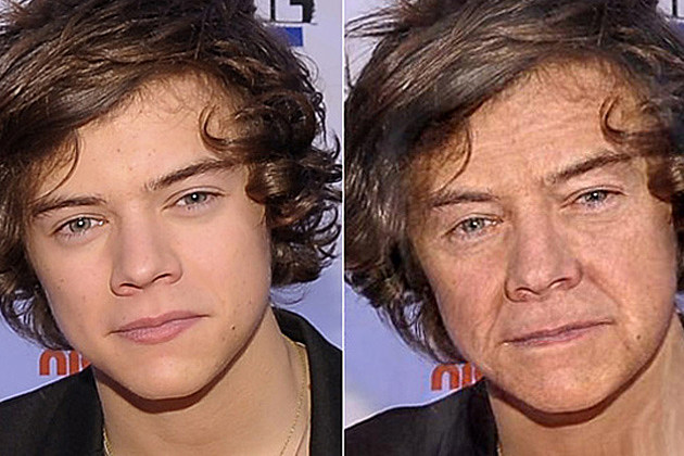Harry Styles One Direction Old