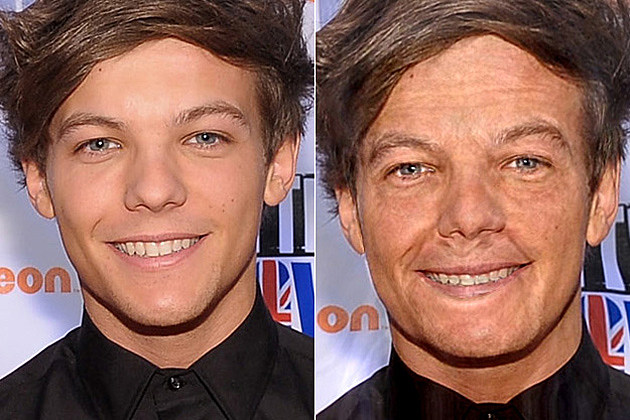 Louis Tomlinson One Direction Old