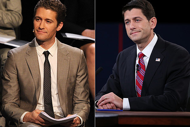 Matthew Morrison Paul Ryan