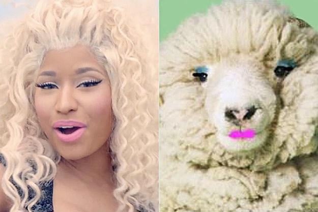 Nicki Minaj Sheep