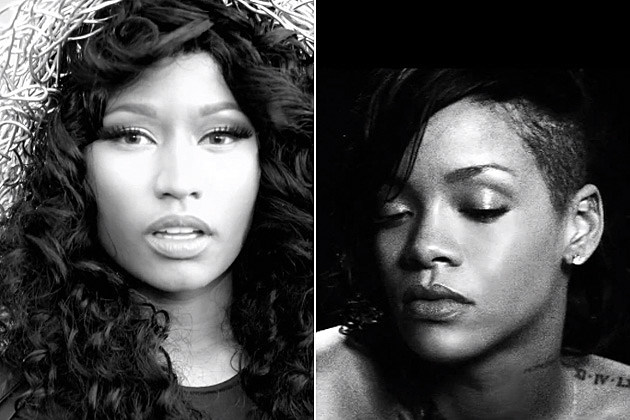 Nicki Minaj Rihanna