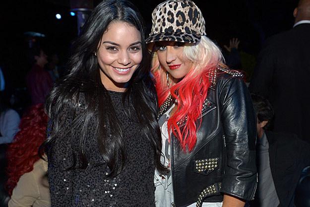 Vanessa Hudgens Christina Aguilera