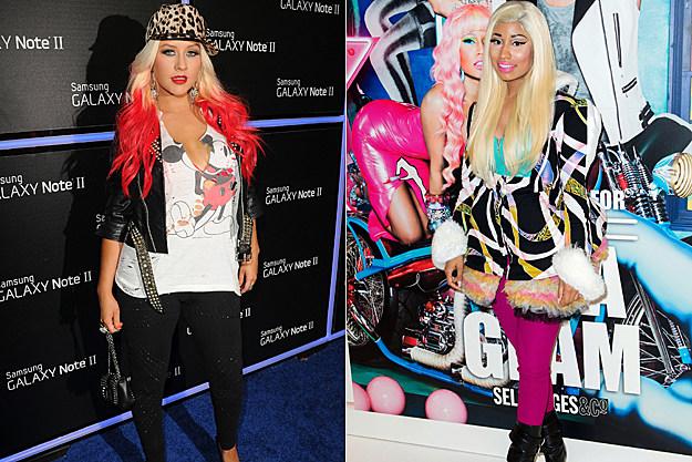 Christina Aguilera, Nicki Minaj