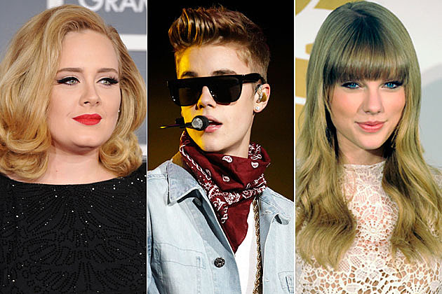 Adele, Justin Bieber, Taylor Swift Named Forbes' Brightest Music Stars Under 30