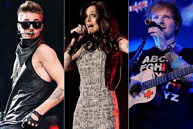 Justin Bieber Cher Lloyd Ed Sheeran