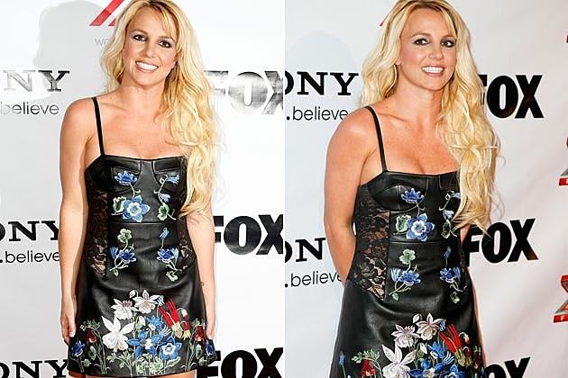 Britney Spears X Factor Dress